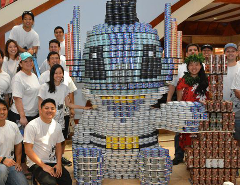 Image of canstruction event