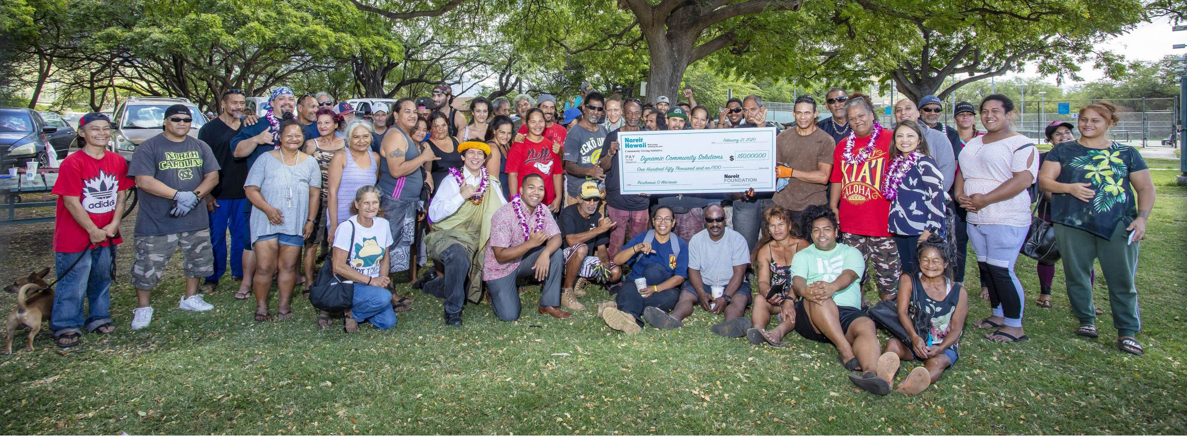 Pu'uhonua O Wai'anae Reaches Major Milestone with $150,000 Grant from Nareit Hawaii Community Giving Initiative